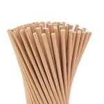 Biodegradable Dye-Free Kraft Paper Straws