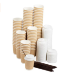 Compostable and Biodegradable Cups for Hot Drinks