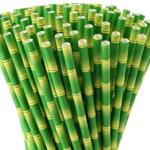 Bamboo Biodegradable Paper Straws