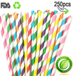 Biodegradable Recyclable Paper Straws